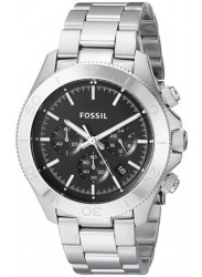 Fossil Men's Retro Traveler Chronograph Stainless Steel Watch CH2848