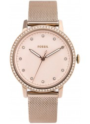 Fossil Women's Neely Rose Gold Dial Rose Gold Stainless Steel Watch ES4364