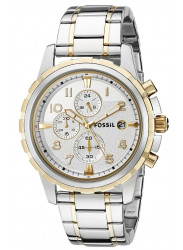 Fossil Men's Dean Two Tone Watch FS4795