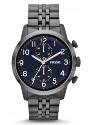 Fossil Men's Townsman Chronograph Black Dial Watch FS4894