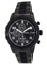 Fossil Men's Dean Chronograph Black Watch FS4904