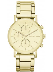 DKNY Women's Lexington Gold Dial Gold Watch NY8861