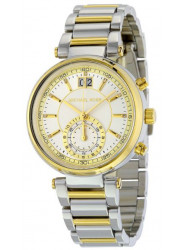 Michael Kors Women's Sawyer Two Tone Watch MK6225