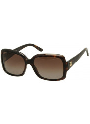 b7e6a87d010 Gucci Women s Oversized Full Rim Brown Havana Sunglasses GG 3580 S WR9 LA