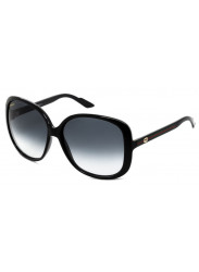 Gucci Women's Oversized Full Rim Dark Blue Sunglasses GG 3167/S 913/JJ