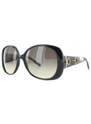 Gucci Women's Oversized Full Rim Black Sunglasses GG 3536/S 5E6/ED