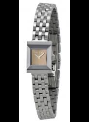 Gucci Women's G-Frame Brown Dial Watch YA128501