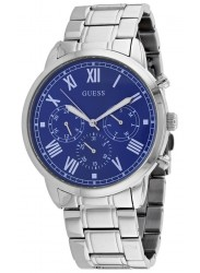 Guess Men's Hendrix Chronograph Blue Dial Stainless Steel Watch W1309G1