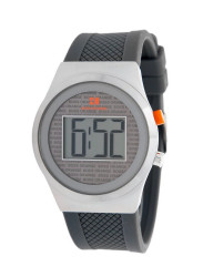 Hugo Boss Orange Men's Digial Grey Silicone Watch 1512690