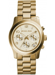 Michael Kors Women's Runway Gold Tone Watch MK5055