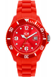 Ice Watch Unisex Red Dial Red Silicone Watch SI.RD.B.S.09