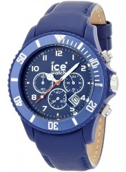 Ice-Watch Men's Chronograph Blue Dial Blue Leather Watch CH.BE.B.L.11
