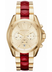 ichael Kors Women's Bradshaw Chronograph Gold Tone Dial Gold Tone Stainless Steel Watch MK6443.jpg