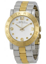 Marc by Marc Jacobs Women's Amy Silver Dial Two-Tone Stainless Steel Watch MBM3139
