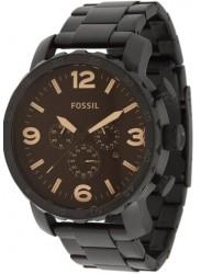 Fossil Men's Nate Chronograph Black Watch JR1356