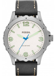 Fossil Men's JR1461 Nate Analog Display Analog Quartz Black Watch