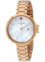 Kate Spade Women's Park Row Mother of Pearl Dial Rose Gold Stainless Steel Watch KSW1323