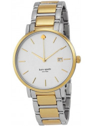Kate Spade Women's Gramercy White Dial Two-tone Watch 1YRU0108