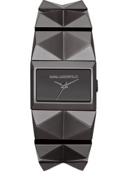 Karl Lagerfeld Women's Perspektive Gunmetal Stainless Steel Watch KL2602