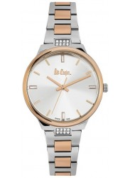 Lee Cooper Women's Silver Dial Two-Tone Stainless Steel Bracelet Watch LC06473.520