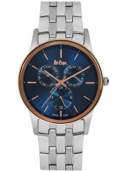 Lee Cooper Men's Blue Multi-Function Dial Stainless Steel Watch LC06498.590