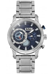 Lee Cooper Men's Blue Multi Function Dial Stainless Steel Watch LC06519.390