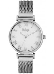 Lee Cooper Women's White Dial Mesh Stainless Steel Watch LC06561.320