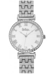 Lee Cooper Women's White Dial Stainless Steel Watch LC06562.320