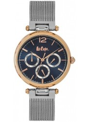 Lee Cooper Unisex Blue Multi Function Dial Stainless Steel Watch LC06618.590
