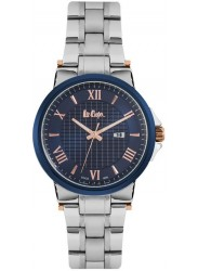 Lee Cooper Men's Blue Dial Stainless Steel Watch LC06622.390