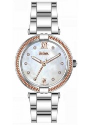 Lee Cooper Women's Mother of Pearl Dial Stainless Steel Watch LC06777.520