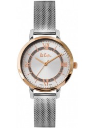 Lee Cooper Women's Silver Dial Mesh Stainless Steel Watch LC06876.530