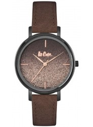 Lee Cooper Women's Brown Dial Brown Leather Watch LC06913.052