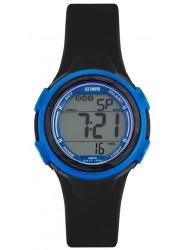 Lee Cooper Women's Digital Dial Black Rubber Watch ORG05201.621