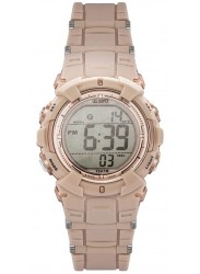 Lee Cooper Unisex Digital Dial Beige Rubber Watch ORG05206.427
