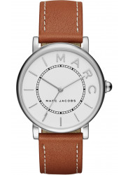 Marc Jacobs Women's White Dial Brown Leather Strap Watch MJ1571.jpg