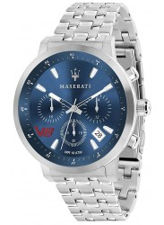 Maserati Men's GT Chronograph Blue Dial Stainless Steel Watch R8873134002