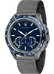Maserati Men's Traguardo Chronograph Blue Dial Stainless Steel Watch R8873612009R8873612009