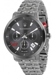 Maserati Men's GT Chronograph Grey Dial Grey Stainless Steel Watch R8873134001