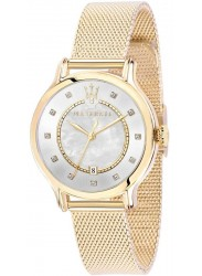 Maserati Women's Epoca Mother of Pearl Dial Gold Stainless Steel Watch R8853118502