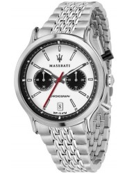 Maserati Men's Legend Chronograph White Dial Stainless Steel Watch R8873638004