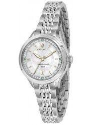 Maserati Women's Traguardo Mother of Pearl Dial Stainless Steel Watch R8853112513