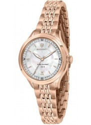 Maserati Women's Traguardo Mother of Pearl Dial Rose Gold Stainless Steel Watch R8853112514