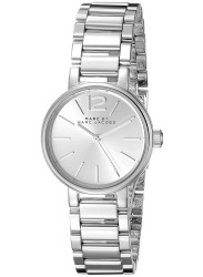 Marc by Marc Jacobs Women's Peggy Silver Dial Stainless Steel Watch MBM3404