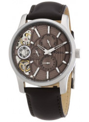 Fossil Men's Twist Brown Leather Watch ME1098
