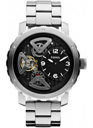 Fossil Men's Nate Skeleton Dial Watch ME1132