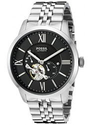 Fossil Men's Townsman Automatic Black Dial Watch ME3107