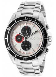Michael Kors Men's Chronograph White Dial Watch MK8339