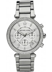 Michael Kors Women's Parker Silver Tone Watch MK5353