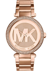 Michael Kors Women's Parker MK Dial Crystal Bezel Watch MK5865